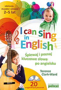 "okładka ""I can sing in English"""